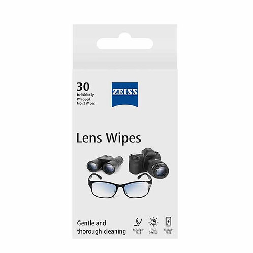 Zeiss Lens Wipes 30 in a  pack