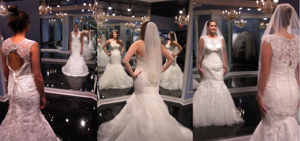Wedding dress from every angle