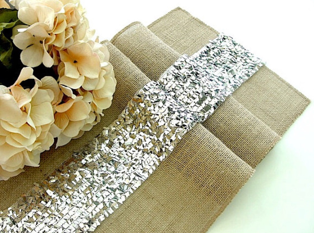 Burlap and Sequins