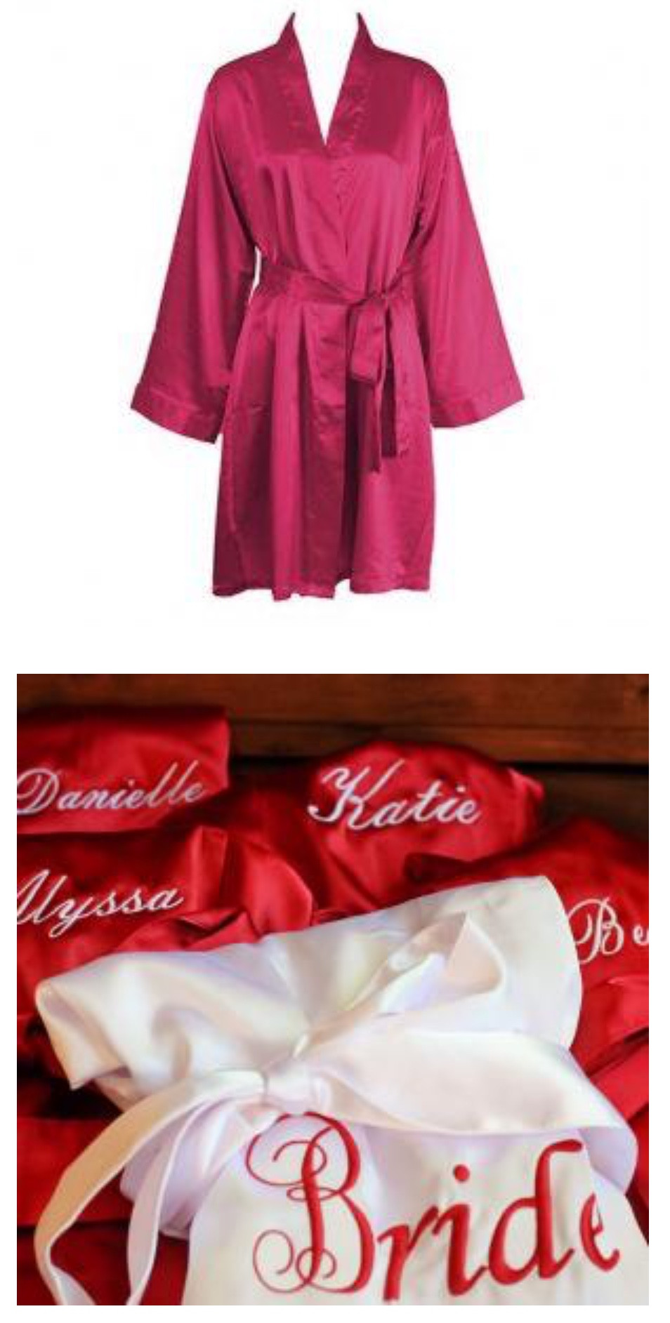 Personalized Bridesmaids Gifts - Robe