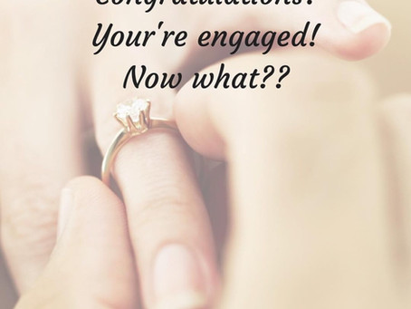 16 Steps Once You Get Engaged