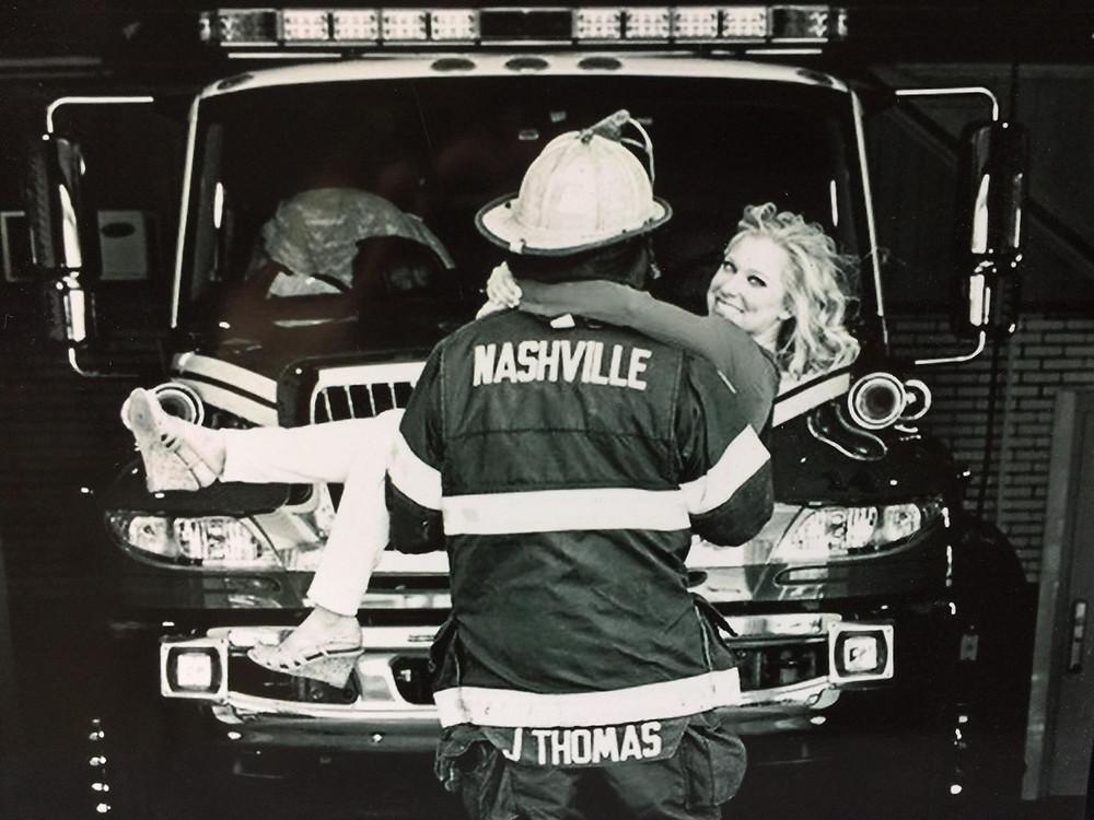 Nashville Fireman - Emily Lester Photography