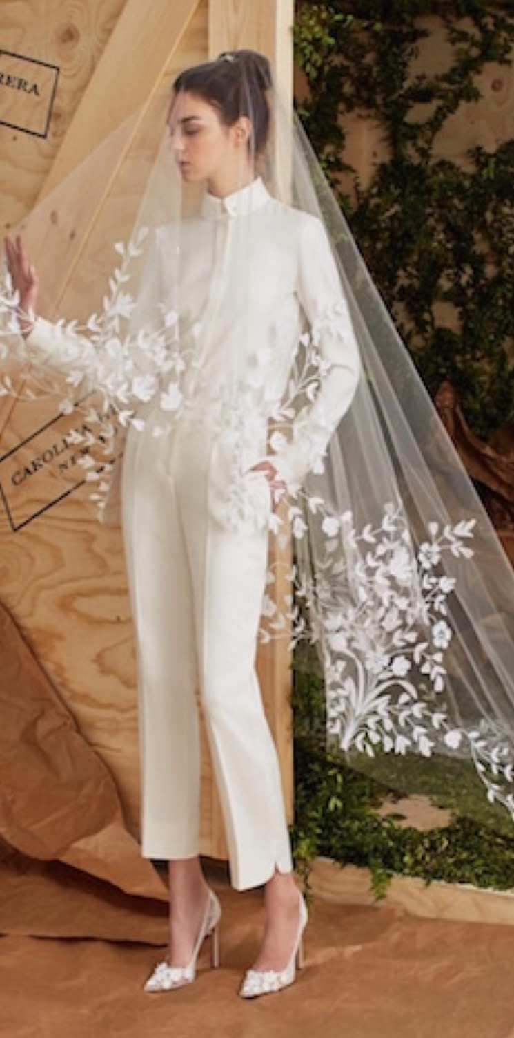 80fae2b3f3ed The Bride Wore Pants? Wedding Day Jumpsuits, Rompers and Pants ...