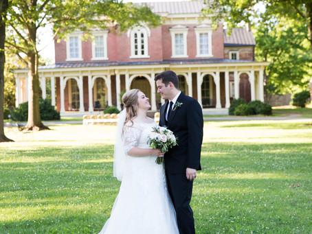 Kayla + Dillan / Oaklands Mansion / Tennessee Wedding