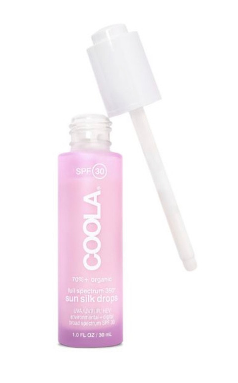 Coola Full Spectrum 360° Sun Silk Drops Organic Sunscreen SPF 30