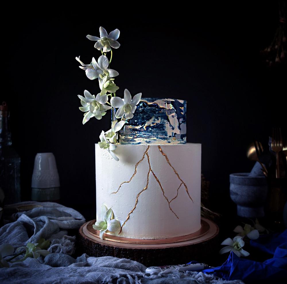 kintsugi cake - Keik by Lisan