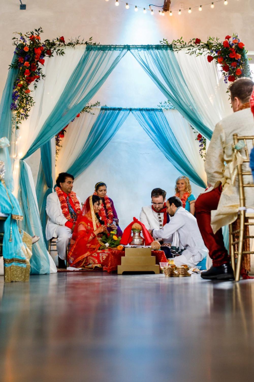 Hindu Mandap - TN Event Designs