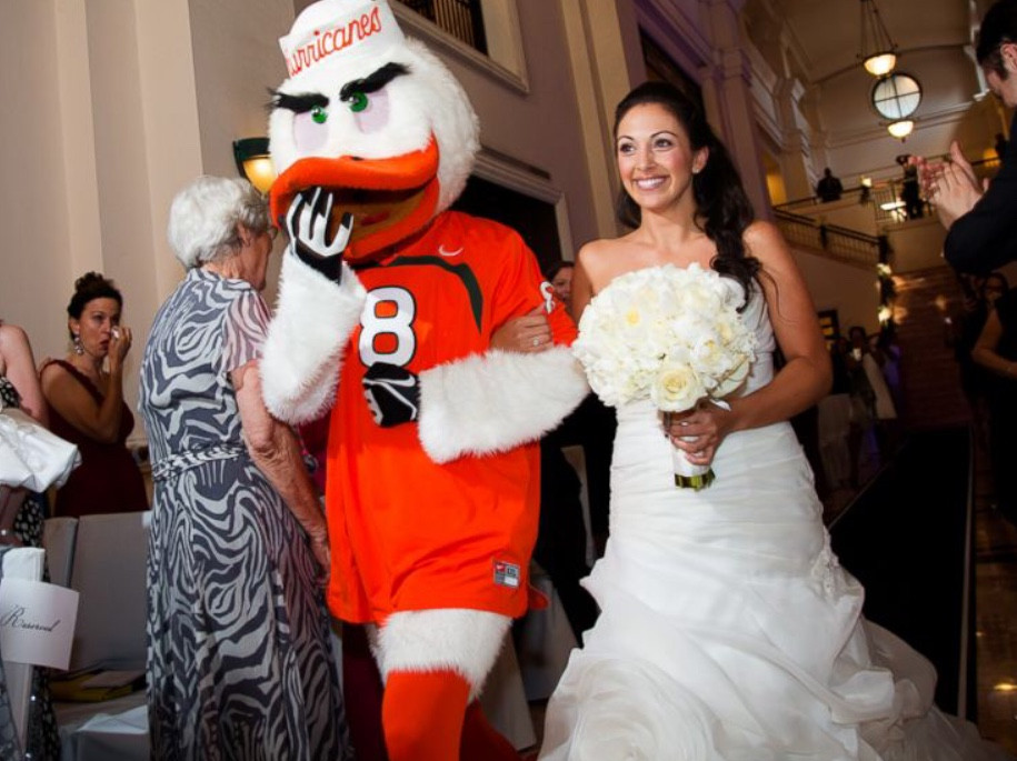 Munoz Photography - Miami Hurricanes Mascot