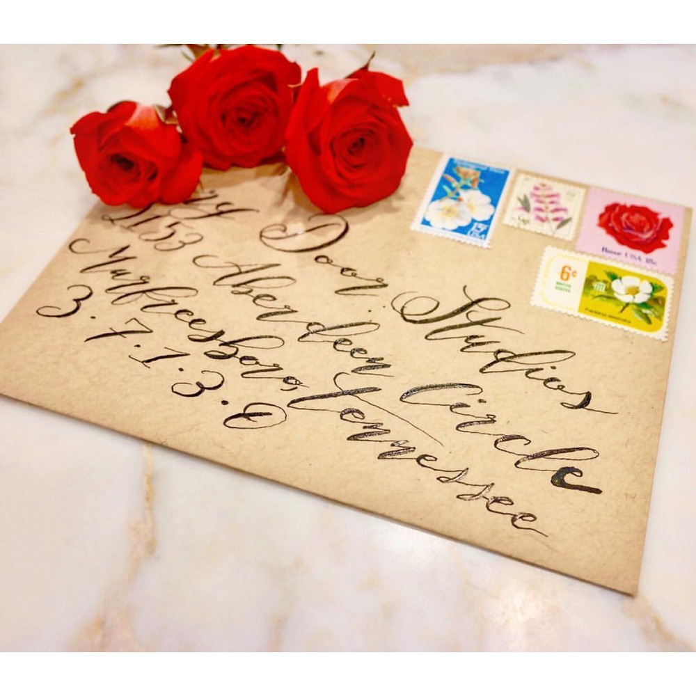 Tocci Calligraphy - Vintage Postage