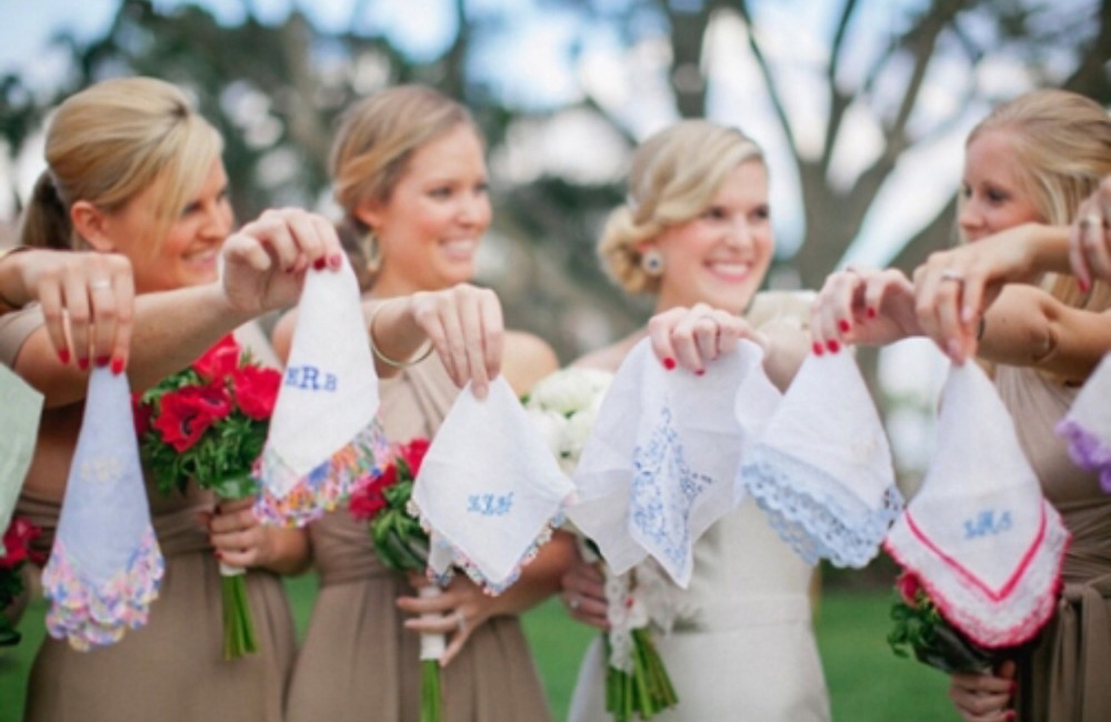 Every bride needs a hankie