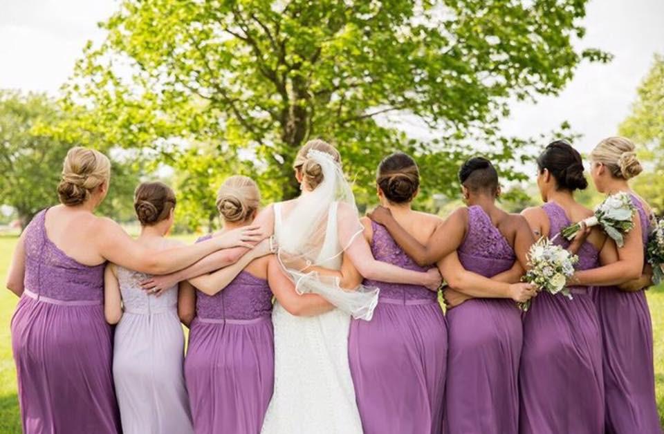 Bride and Bridesmaids - Franklin, TN