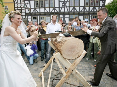 Weird and Wonderful Wedding Traditions