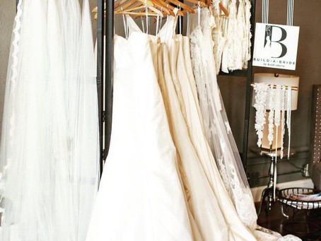 How in-home wedding dress shopping is better than the boutique.