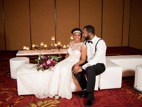 Sheena + Anthony I Gatsby Inspired Wedding I Nashville, Tennessee