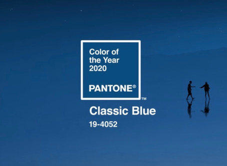We're not blue, but Pantone's Color of the Year sure is!