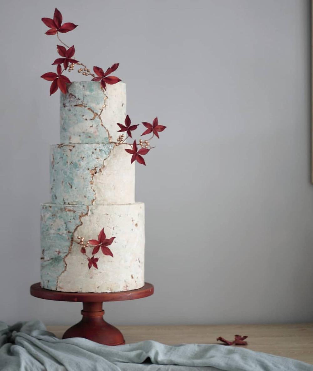 kintsugi cake - Sweet Creations Cake