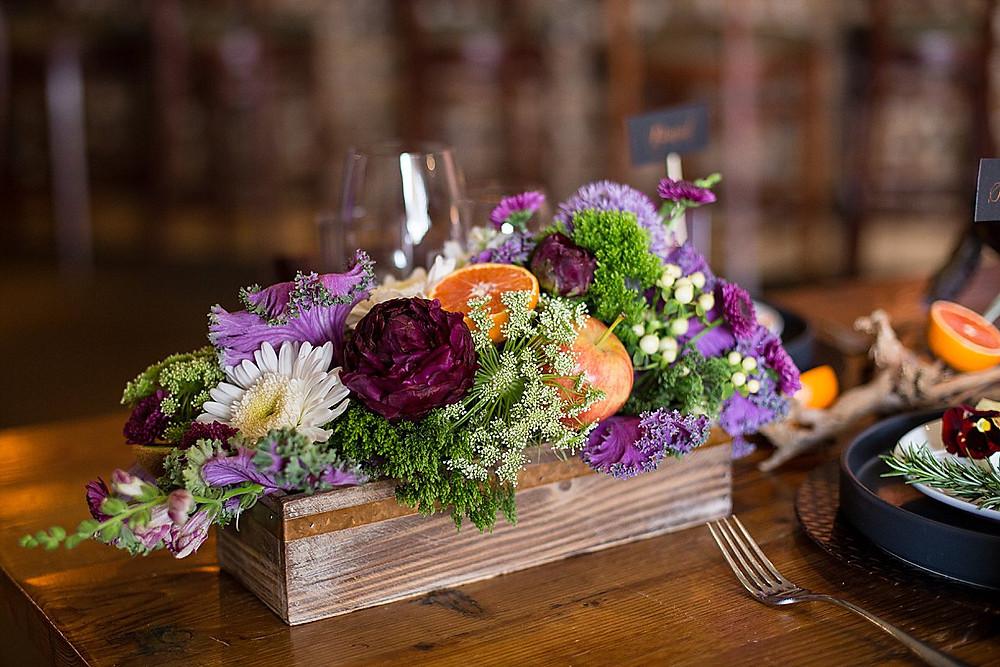 Locally Grown Floral Centerpiece