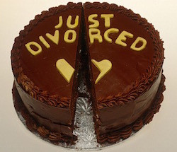 Divorce Party Cake