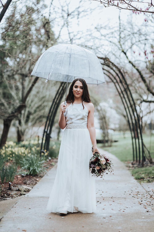 Bride in the rain, Nashville