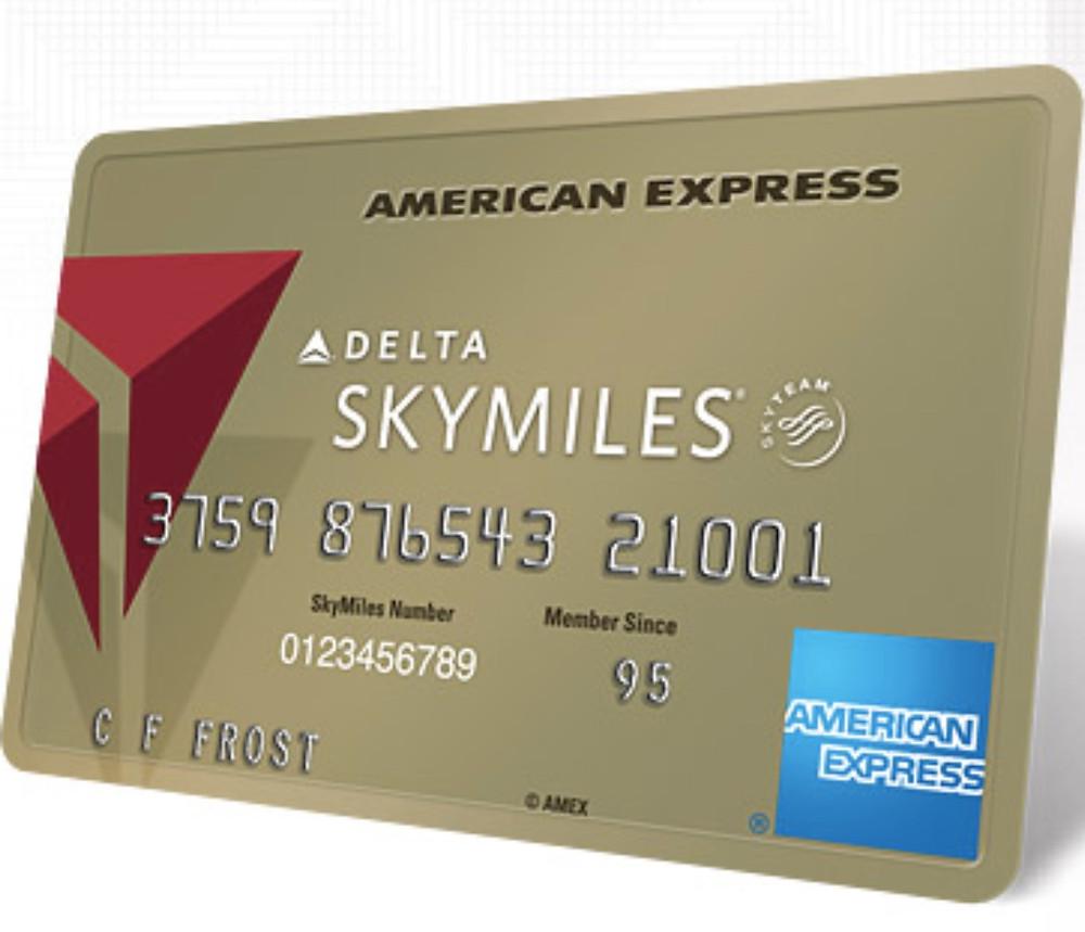 Delta Gold American Express SkyMiles Card