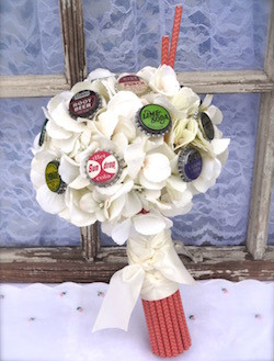 Bottle Cap Bouquet