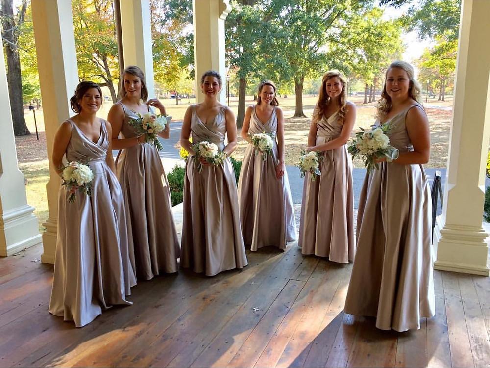 Blush bridesmaids - Nashville, TN