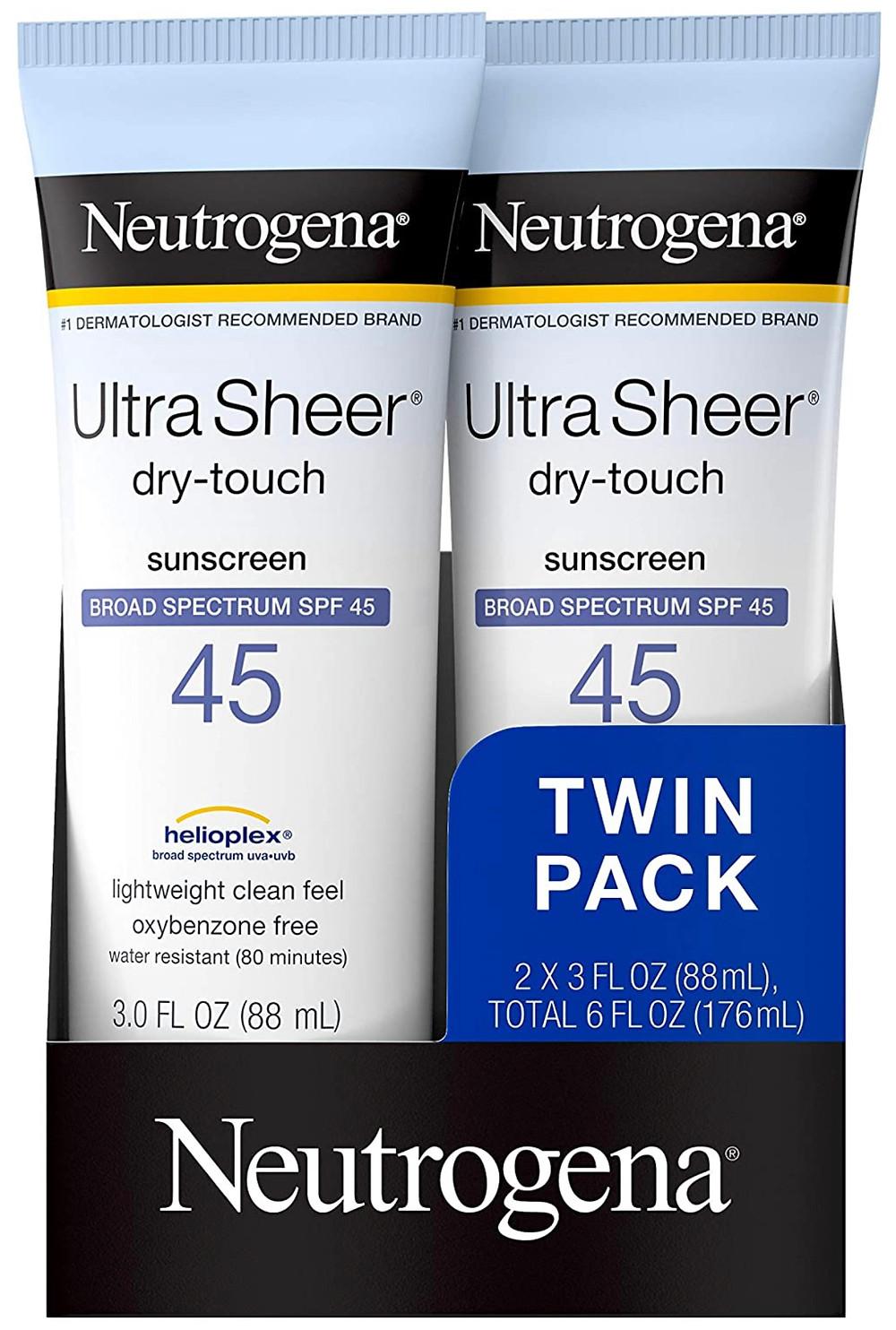 Neutrogena - UltraSheer Dry Touch Sunblock SPF 50+