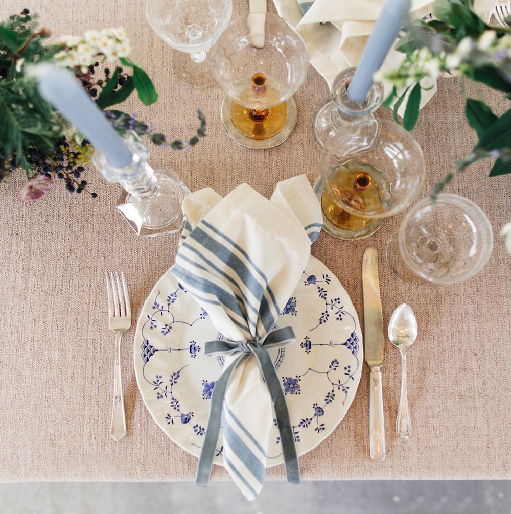 Creating your wedding day seating chart.