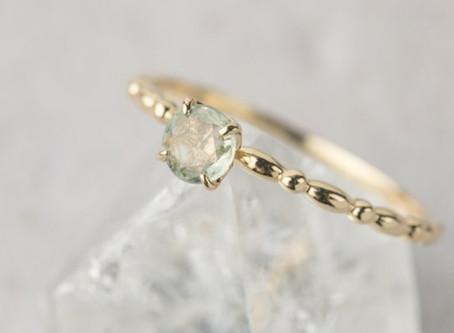 15 Delicate Engagement Rings We Love