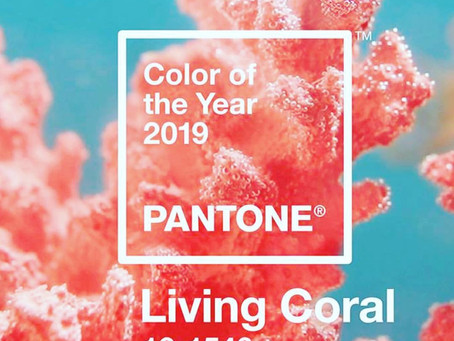 Celebrate the Seas with Living Coral - 2019 Color of the Year