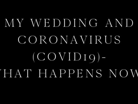 COVID-19...also known as the Uninvited Wedding Guest.