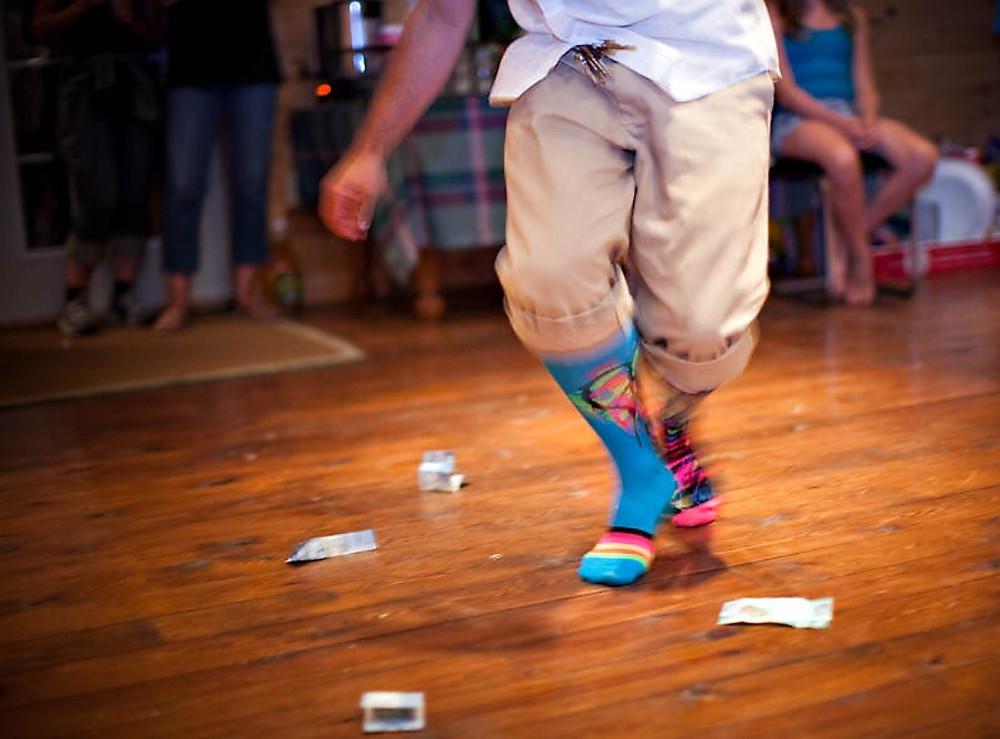 Silly sock dance