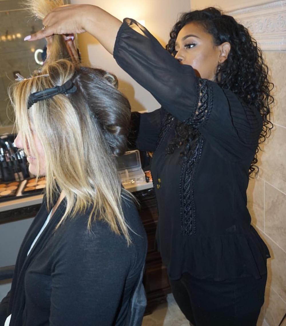 Nashville Wedding Hair Stylist