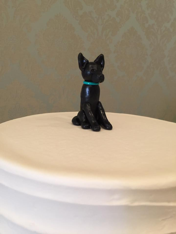 Eden Ingle Photo - Puppy Cake Topper