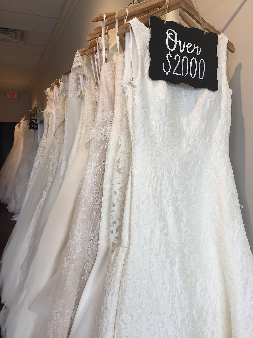 Fabulous Frocks - Over $2000 wedding dress
