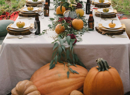 Styling Your Wedding With Pumpkins