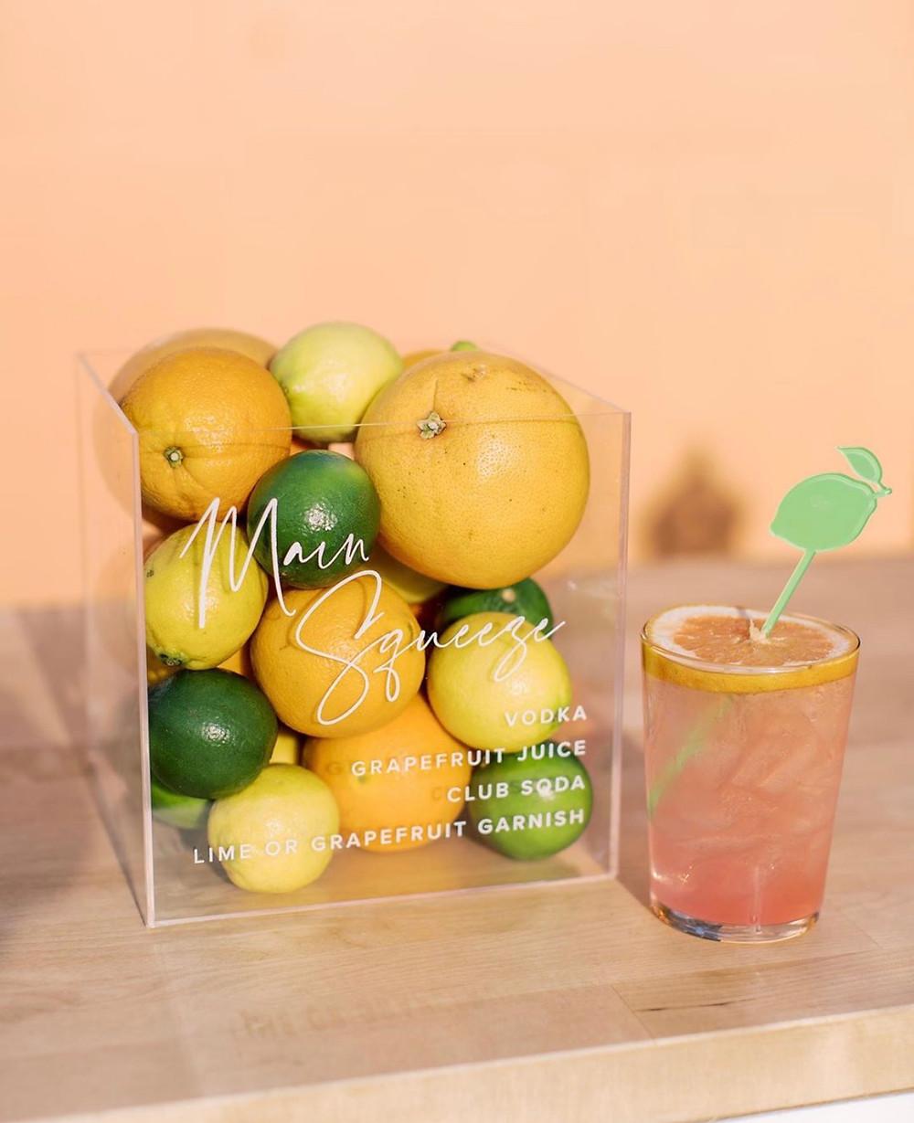 Signature Citrus Cocktail