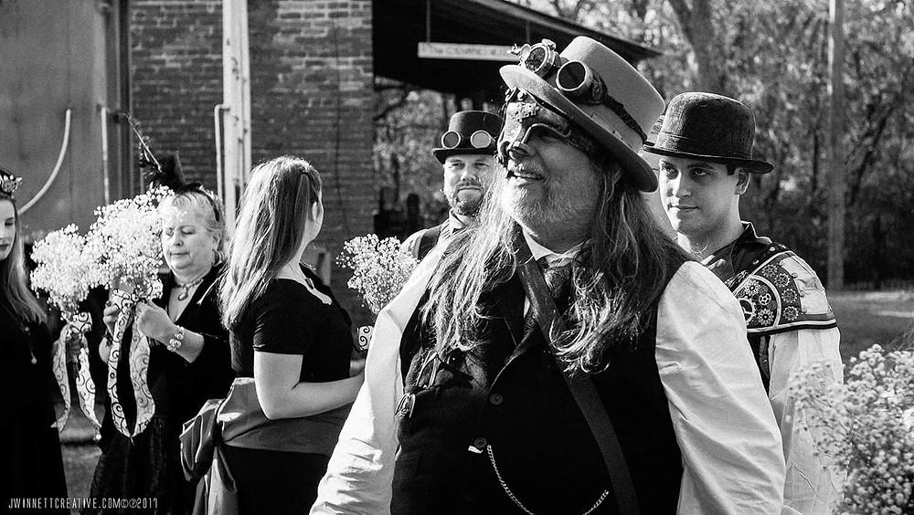 Steampunk groom
