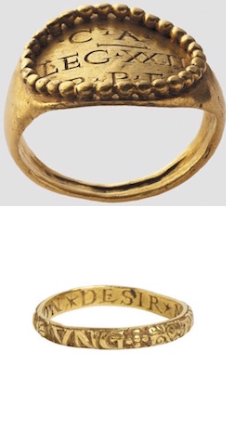 Ancient Roman Engagement Ring