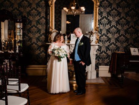 Brittany + Jon / Oaklands Mansion / Intimate Nashville Wedding