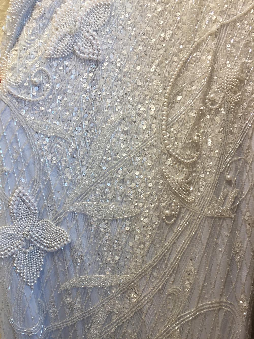 Fabulous Frocks - Beaded Dress Detail