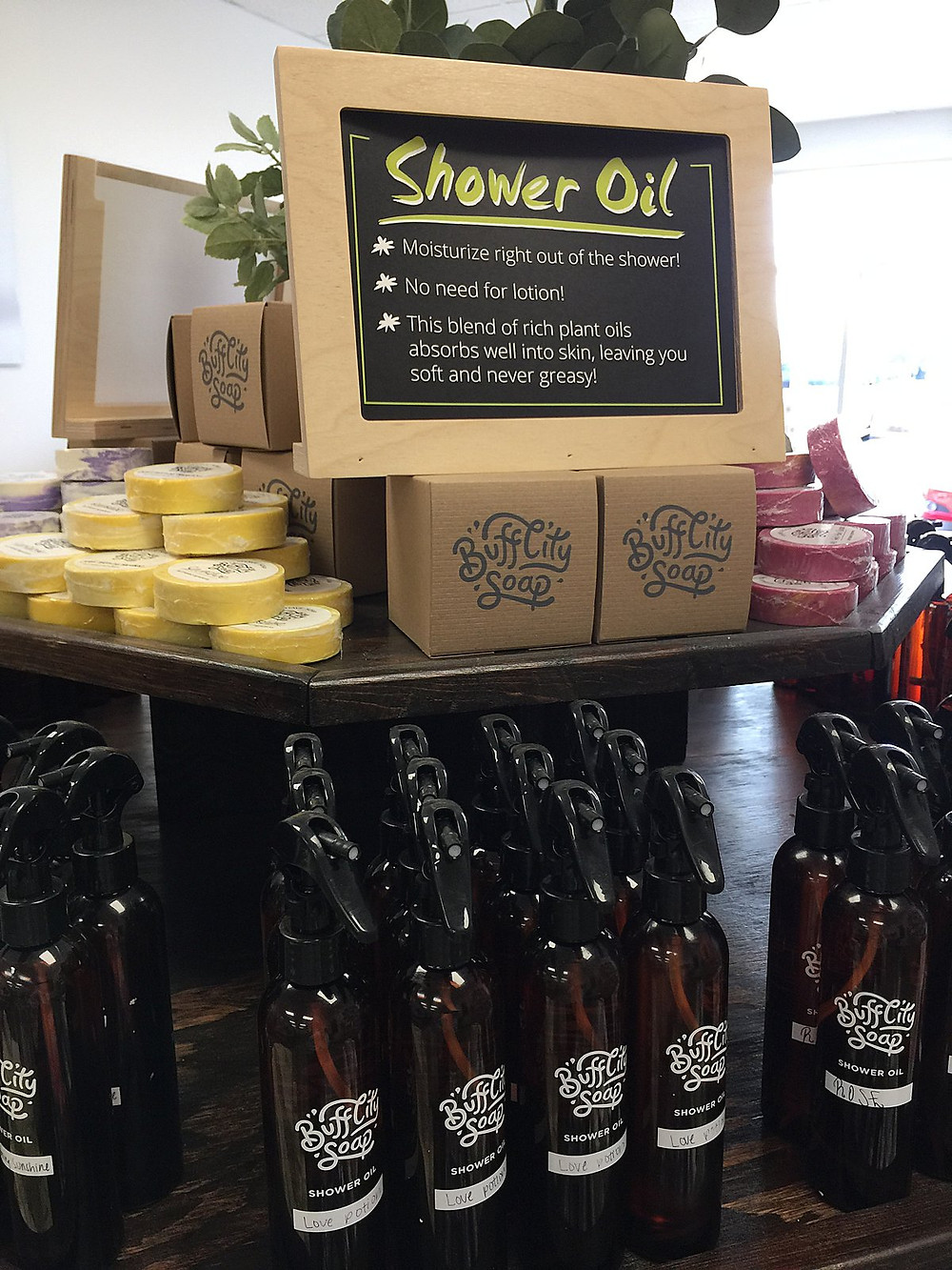 Buff City Soap - Shower Oil