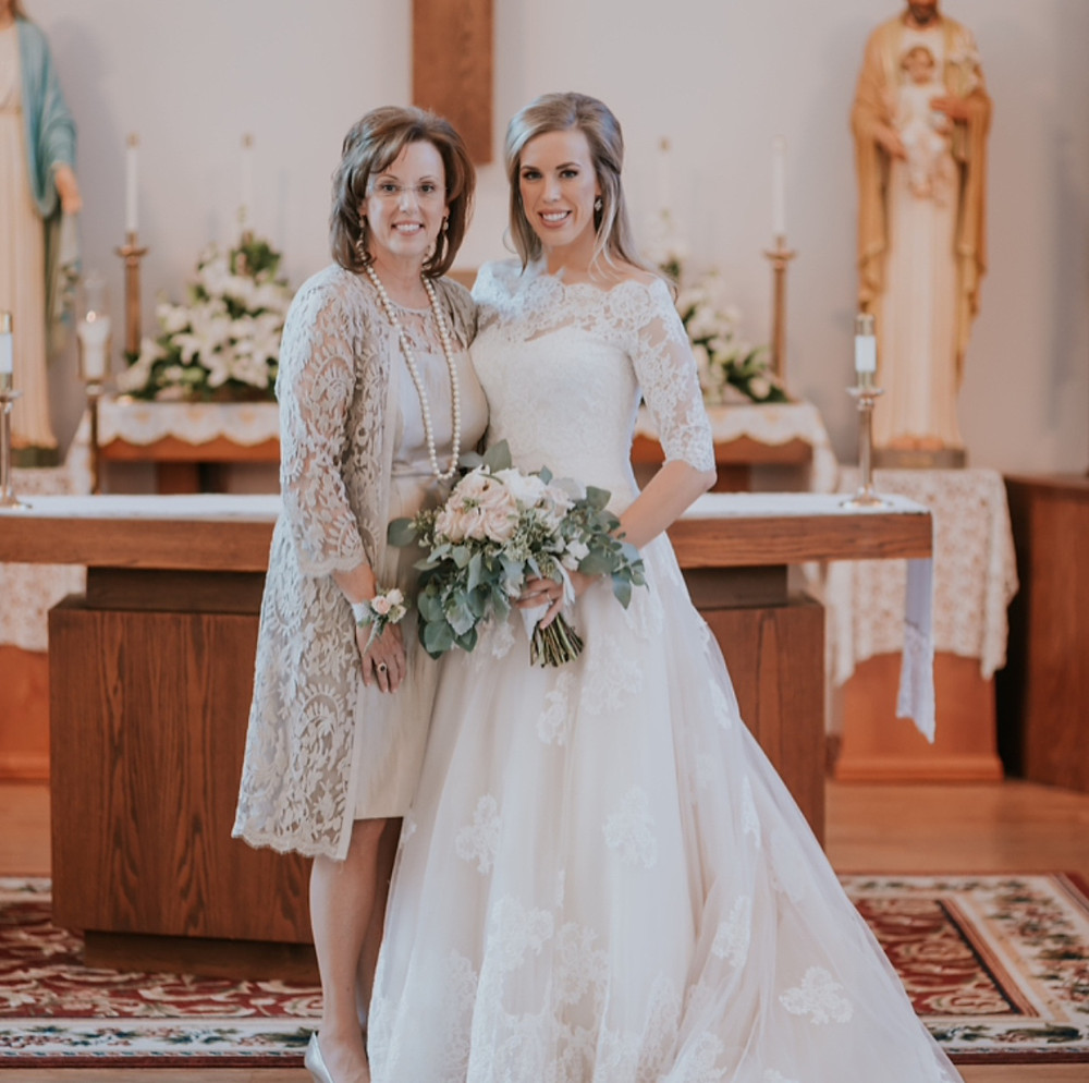 Eden Ingle Photo - Bride and Mother