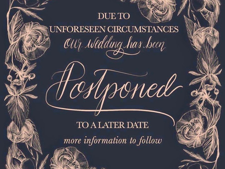 How To Notify Your Guests of Date Postponement