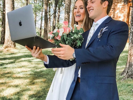 Live Streaming Your Wedding Ceremony