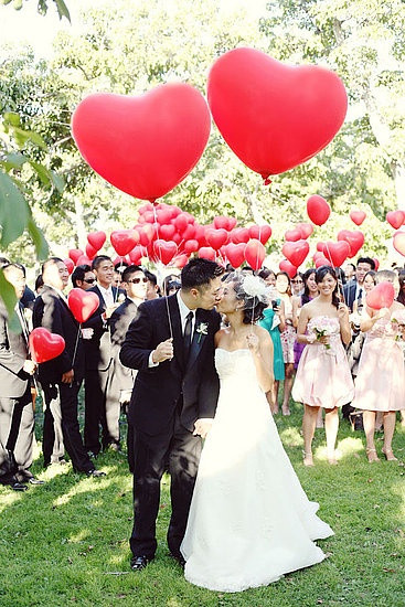 Valentine's Day Wedding