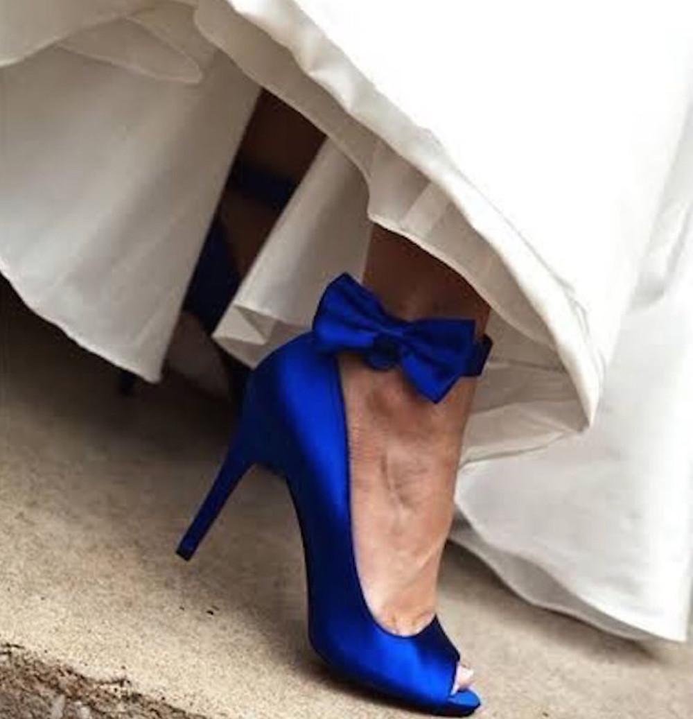 royal blue wedding shoes