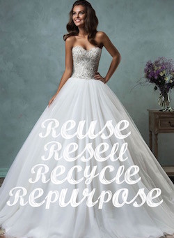 Recycle Your Wedding