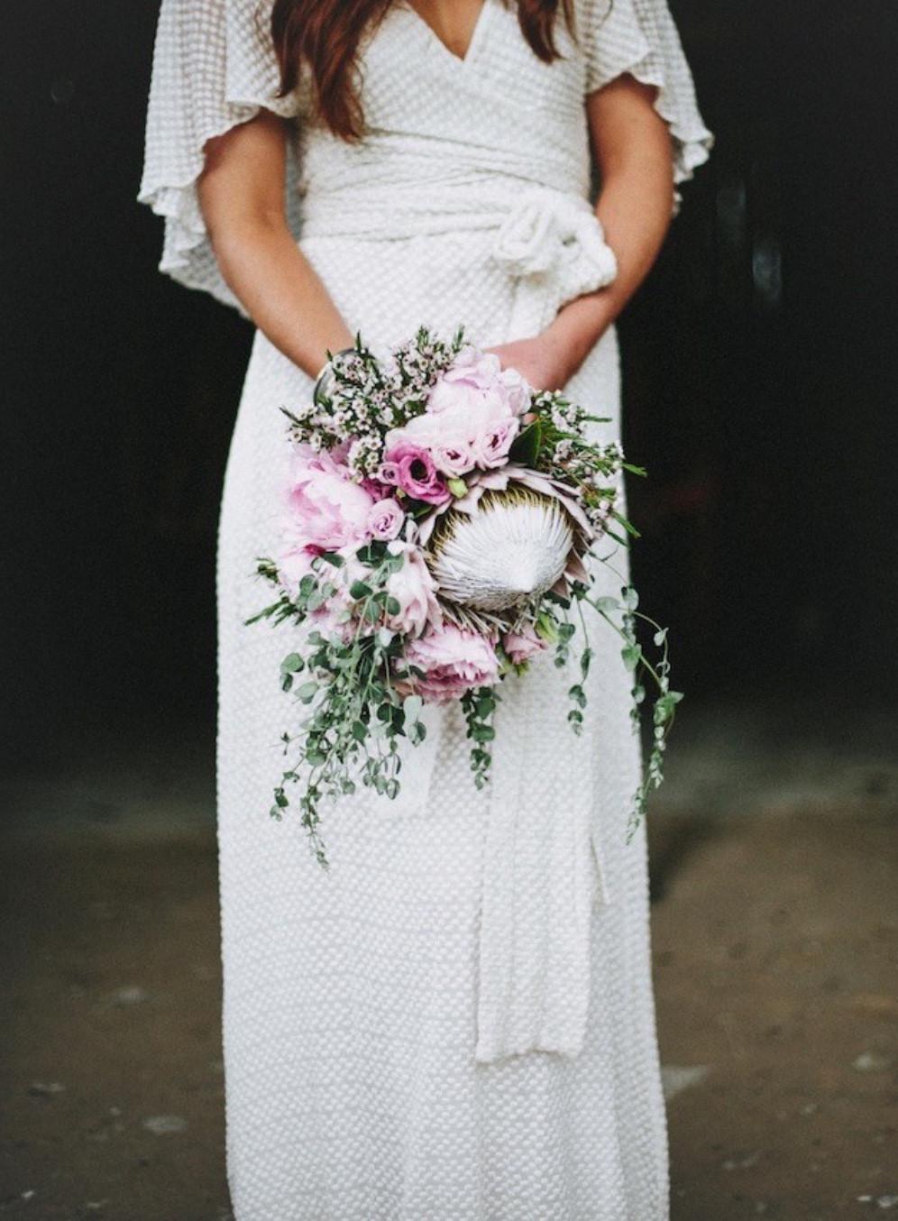 Clementine Posy Bouquet