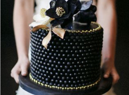 Bold, Beautiful Black Cakes